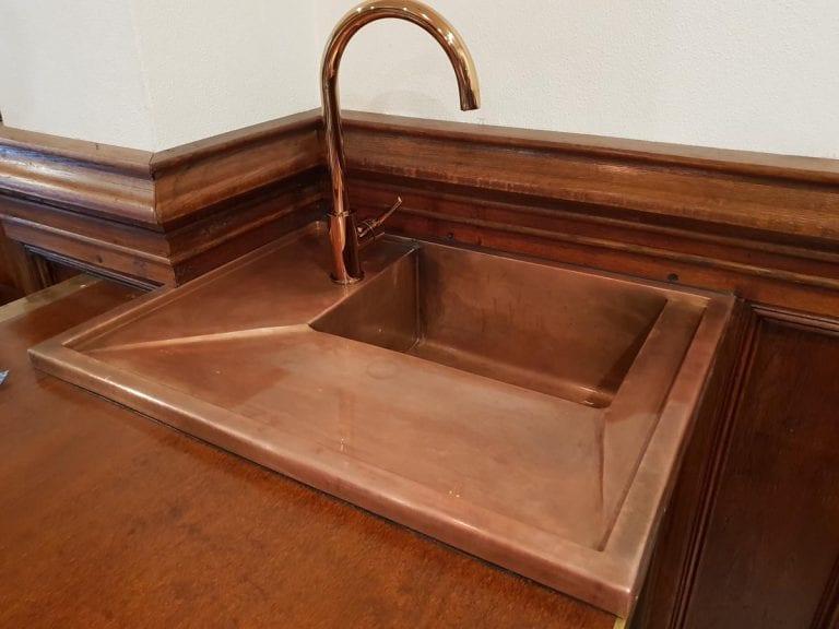 Interior Copper & Zinc
